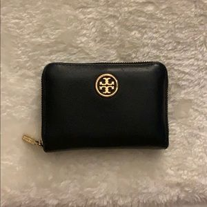 Tory Burch Zippered Coin Purse with Keychain